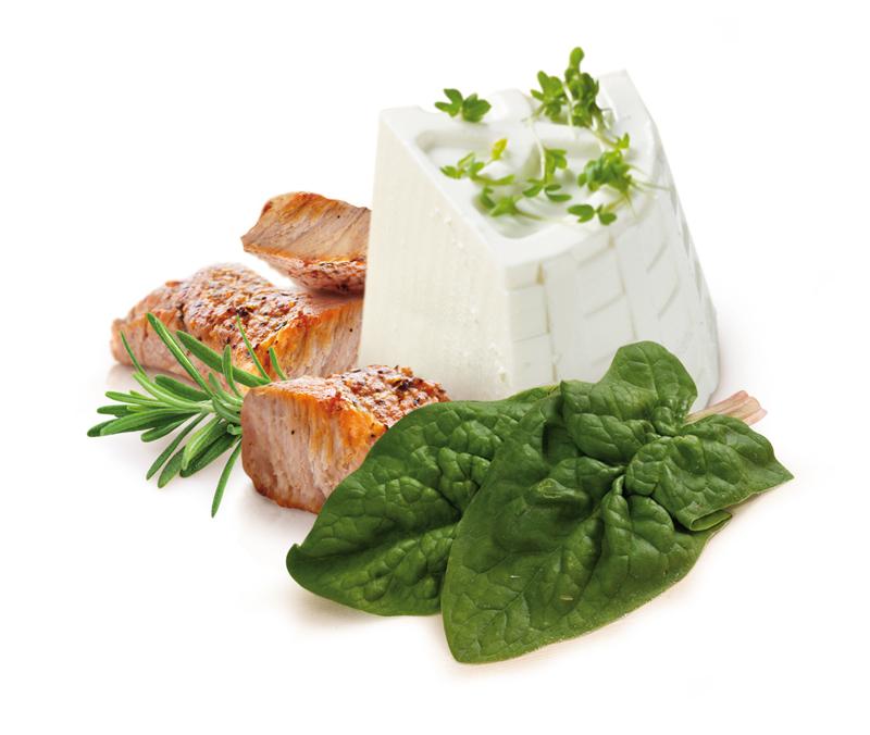 carne ricotta e spinaci