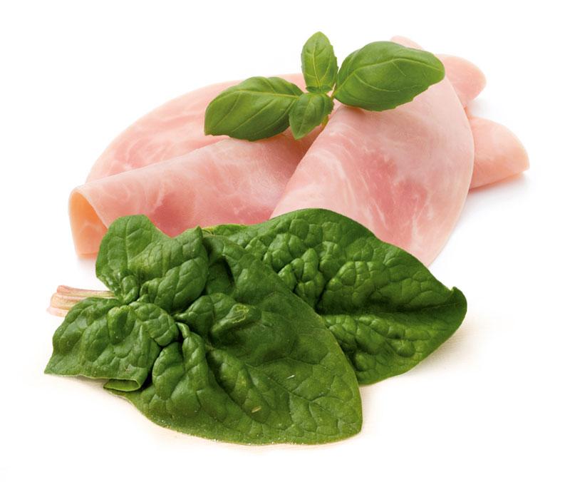 spätzle spinaci panna e prosciutto