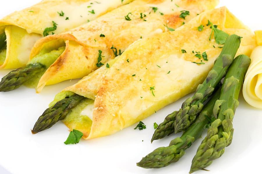 crespelle agli asparagi