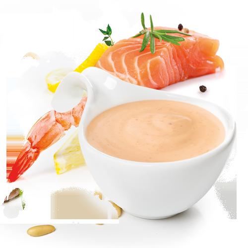 salsa salmone gamberetti