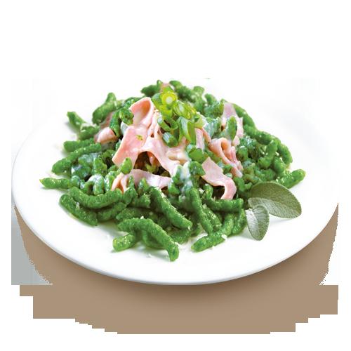 spaetzle spinaci